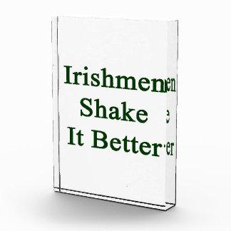 Irishmen Shake It Better Award