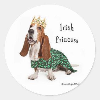IrishPrincess Classic Round Sticker