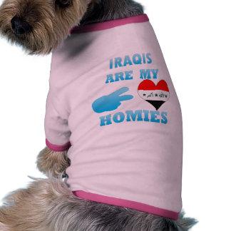 Irishs are my Homies Pet Tee Shirt