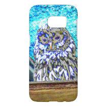 Irisierende owl samsung galaxy s7 case