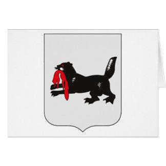 Irkutsk Coat of Arms Greeting Card