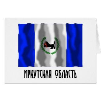 Irkutsk Oblast Flag Card