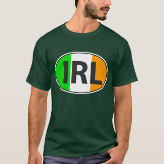 IRL Oval With Flag T-Shirt