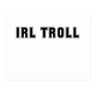 IRL Troll Postcard