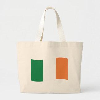 irland flag canvas bag