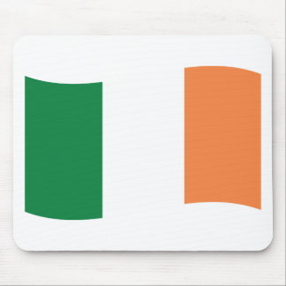 irland flag mouse pad