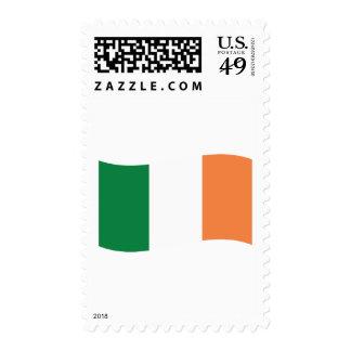 irland flag stamp