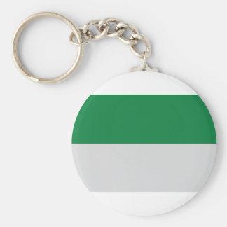 irland green white keychain