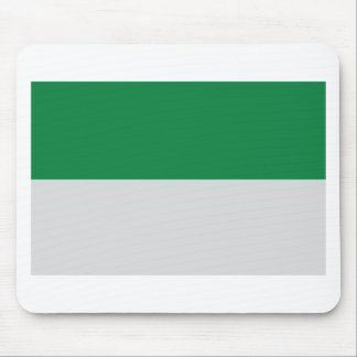 irland green white mouse mats