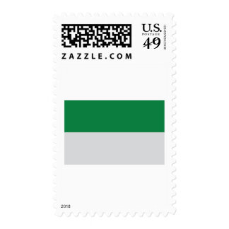 irland green white postage stamps