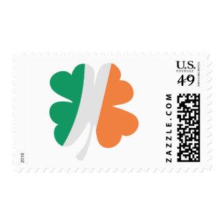 irland shamrock flag stamps