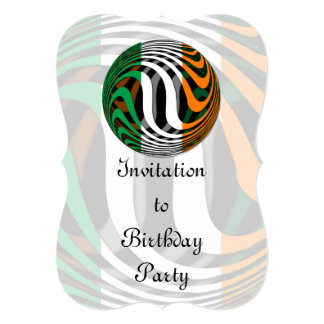 """Irlanda #1 invitación 5"""" x 7"""""""