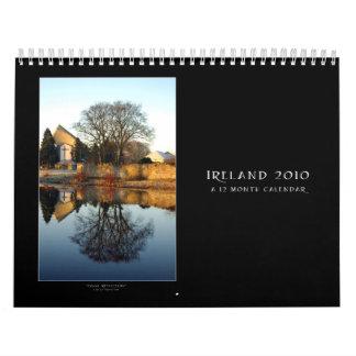 Irlanda 2010 calendario de pared