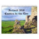 Irlanda 2010 castillos en el calendario de Eire