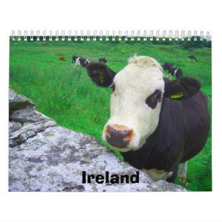 Irlanda 2011 calendario de pared