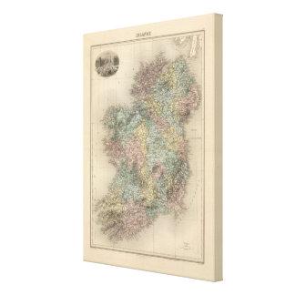 Irlanda 20 impresión en lienzo