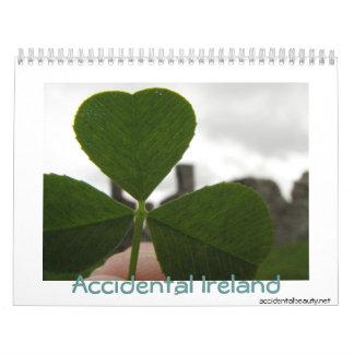Irlanda accidental 2009 calendario de pared