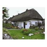 Irlanda, Adare. cabaña del Cubrir con paja-tejado Postales