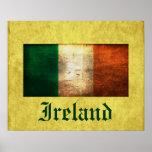 Irlanda apenó el poster de la bandera