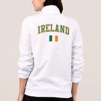 Irlanda + Bandera Chaqueta Deportiva