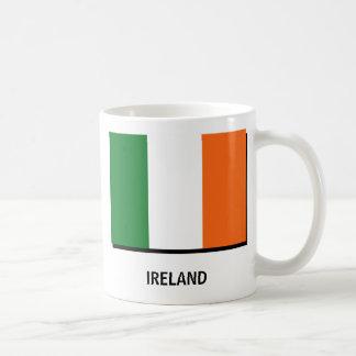 Irlanda-bandera, Irlanda-bandera, IRLANDA, IRLANDA Tazas De Café