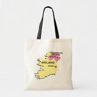 Irlanda Bolsa Tela Barata