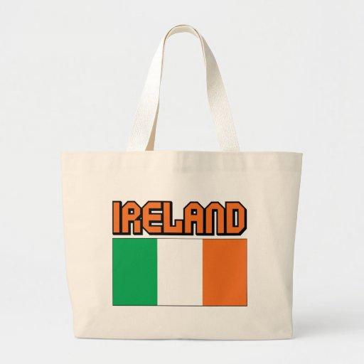 Irlanda Bolsa Tela Grande