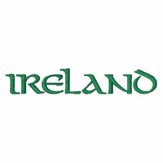 Irlanda bordó la camisa chaquetas bordadas