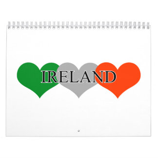 Irlanda Calendario De Pared