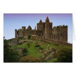 Irlanda, Cashel. Ruinas de la roca de Cashel 2 Tarjeta De Felicitación