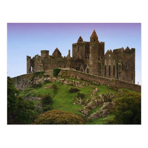 Irlanda, Cashel. Ruinas de la roca de Cashel 2 Postal