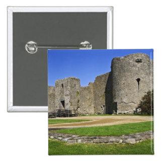 Irlanda, castillo de Roscommon. Vista a Pin Cuadrada 5 Cm