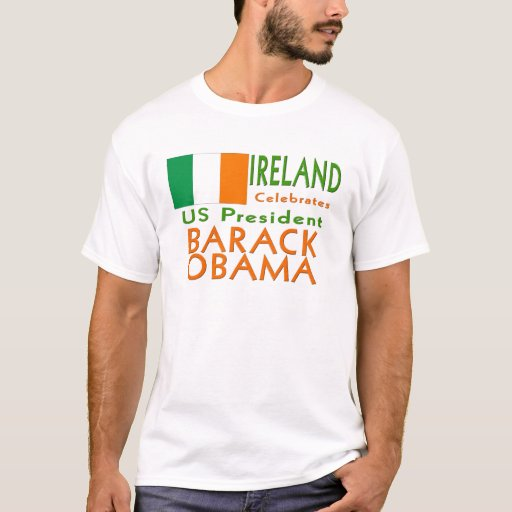 IRLANDA celebra a presidente Obama Inauguration Playera