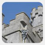 Irlanda, condado Kilkenny, castillo medieval Pegatinas Cuadradases Personalizadas