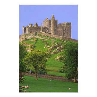 Irlanda, condado Tipperary. Vista de la roca de Fotografías