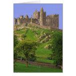 Irlanda, condado Tipperary. Vista de la roca de Tarjeta De Felicitación