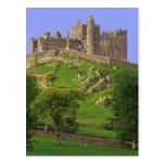 Irlanda, condado Tipperary. Vista de la roca de Tarjeta Postal