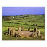 Irlanda, corcho del condado. La piedra de Dromberg Impresión Fotográfica