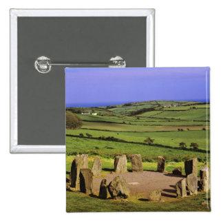 Irlanda, corcho del condado. La piedra de Dromberg Pin Cuadrada 5 Cm