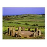 Irlanda, corcho del condado. La piedra de Dromberg Postal