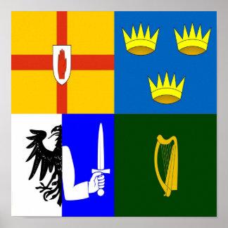 Irlanda cuatro provincias impresiones