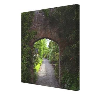Irlanda, de Dromoland del castillo el verde mismo Impresión En Lona