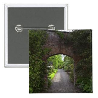 Irlanda, de Dromoland del castillo el verde mismo Pin Cuadrada 5 Cm