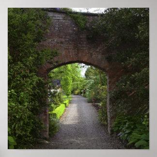 Irlanda, de Dromoland del castillo el verde mismo Póster