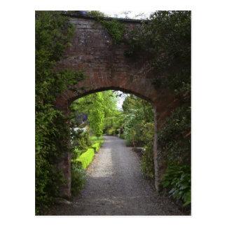 Irlanda, de Dromoland del castillo el verde mismo Tarjeta Postal