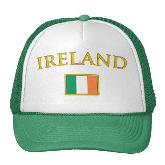 Irlanda de oro gorro