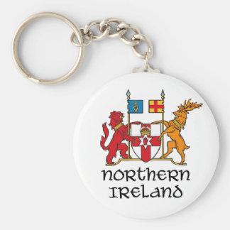 IRLANDA DEL NORTE - bandera/escudo de armas/emblem Llavero Redondo Tipo Pin