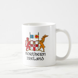 IRLANDA DEL NORTE - bandera/escudo de Taza Clásica