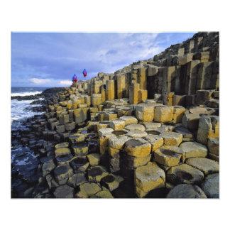 Irlanda del Norte, condado Antrim, gigante Foto