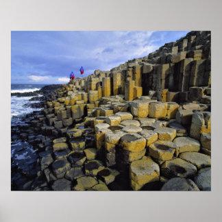 Irlanda del Norte, condado Antrim, gigante Impresiones